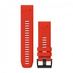 GARMIN - Bracelete QuickFit 26 Silicone Vermelho Fogo