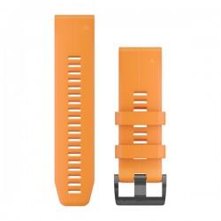 GARMIN - Bracelete QuickFit 26 Silicone Laranja