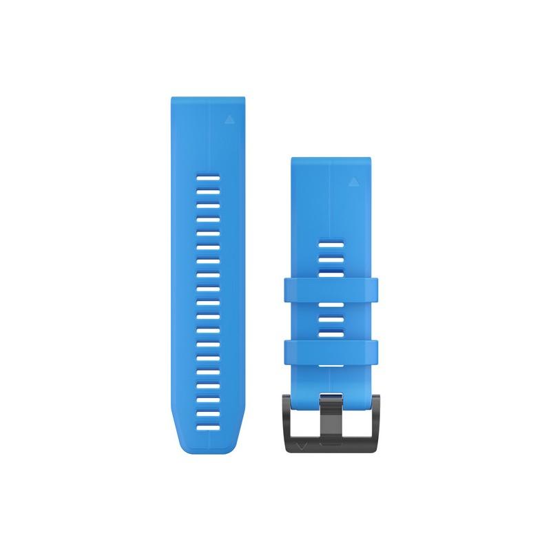 GARMIN - Bracelete QuickFit 26 Silicone Azul Cyan