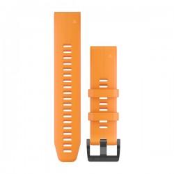 GARMIN - Bracelete QuickFit 22 Silicone Laranja