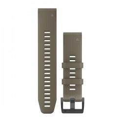 GARMIN - Bracelete QuickFit 22 Silicone Coyote Tan