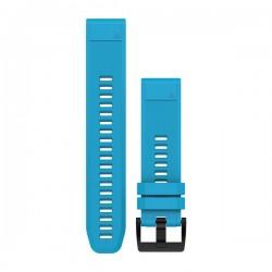 GARMIN - Bracelete QuickFit 22 Silicone Azul Cirrus