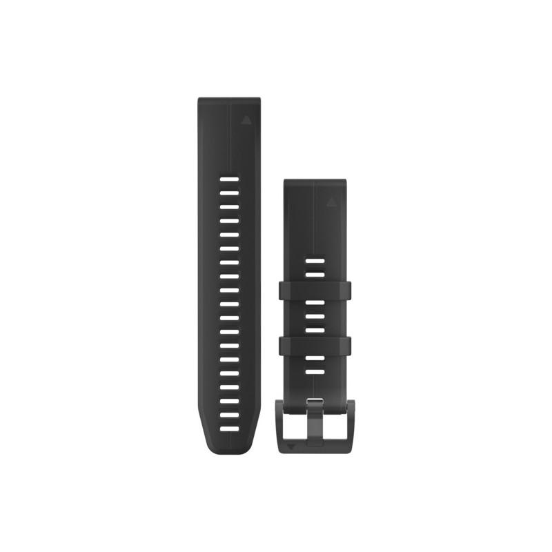 GARMIN - Bracelete QuickFit 22 Silicone Preto
