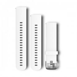 GARMIN - Bracelete Quick Release 20 Silicone Branco