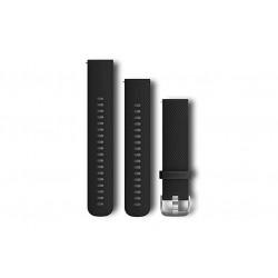 GARMIN - Bracelete Quick Release 20 Silicone Preto