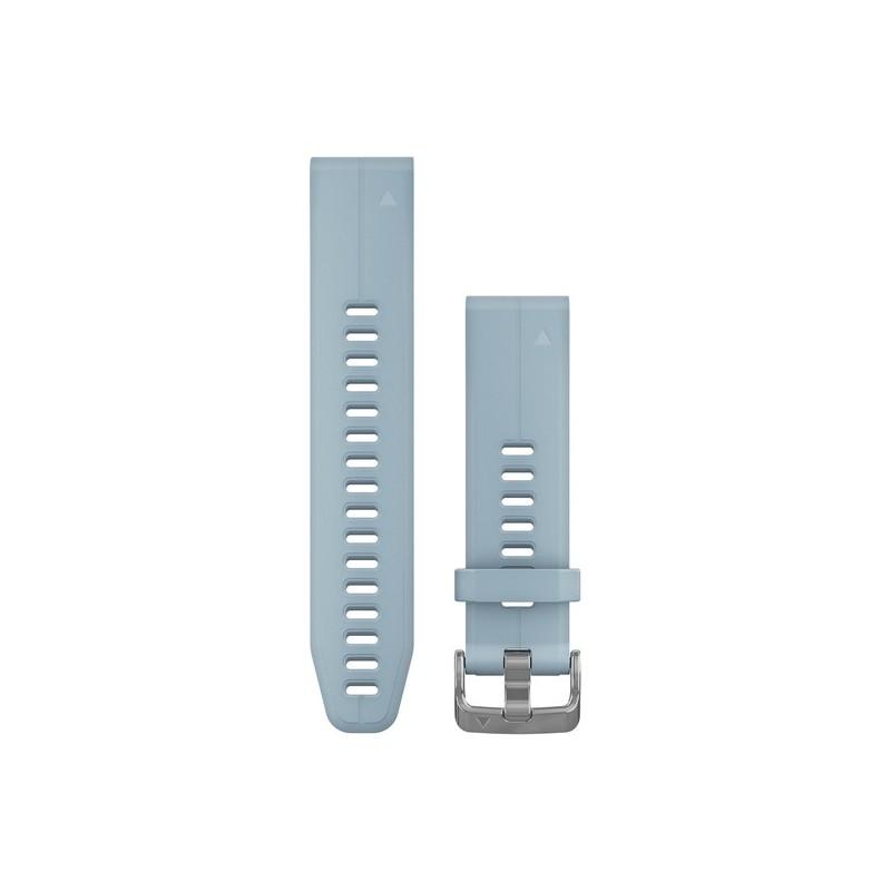 GARMIN - Bracelete QuickFit 20 Silicone Azul