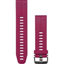 GARMIN - Bracelete QuickFit 20 Silicone Cereja