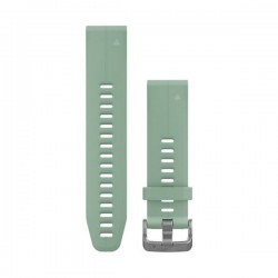 GARMIN - Bracelete QuickFit 20 Silicone Verde Claro